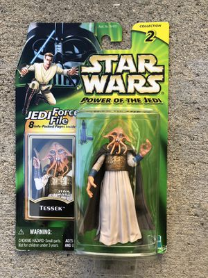 Star Wars Power Of The Jedi Tessek Action Figure | Collection 2 for Sale in Los Angeles, CA