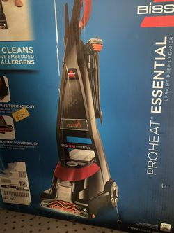 BISSELL Proheat Essential Carpet Cleaner and Carpet Shampooer, 1887,Black for Sale in Garden Grove,  CA