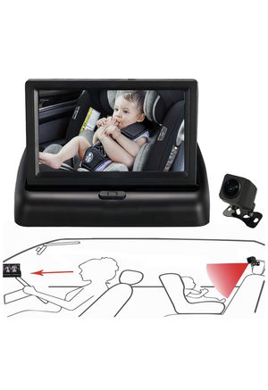 Itomoro Baby Car Mirror, View Infant in Rear Facing Seat with Wide Crystal Clear View,Night Vision,Camera Aimed at Baby-Easily to Observe The Baby's for Sale in St. Louis, MO