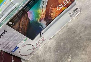Samsung q led 75 inch tv 👍👍👍🔥😎😎 LWQRW for Sale in Murrieta, CA