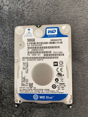 Western Digital WD Blue 500gb laptop hard drive - defective for Sale in Maitland, FL