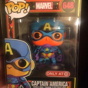 Captain America Blacklight Target Exclusive for Sale in Riverside, CA