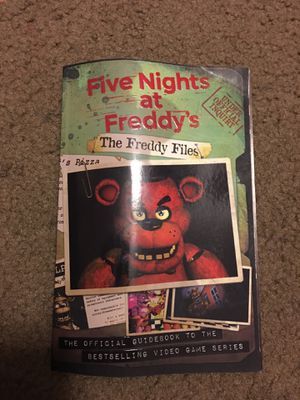 Five nights at Freddy the Freddy files the official guide book to the best selling video game series for Sale in Whittier, CA