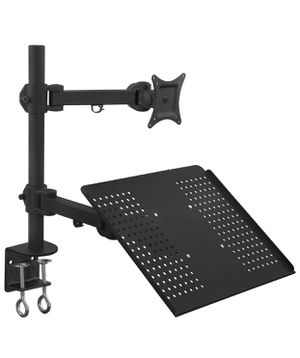 """Laptop Desk stand and monitor 22""""-27"""" for Sale in Springfield, VA"""