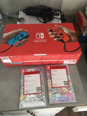 Brand new Nintendo switch and games for Sale in Concord, NC
