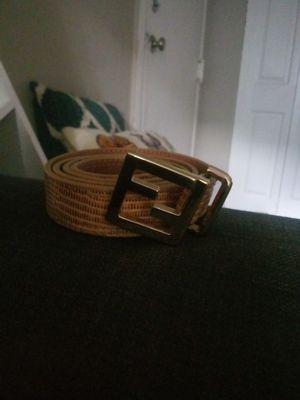 Classic rare Fendi belt (obo for Sale in NO POTOMAC, MD