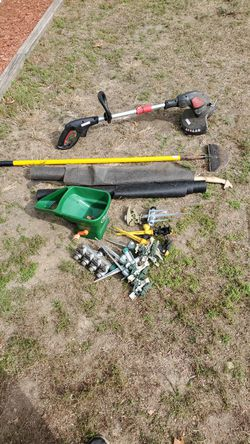 Yard tools and sprinklers etc for Sale in Burrillville,  RI