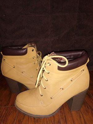 Bella Marie work boot heels for Sale in El Centro, CA