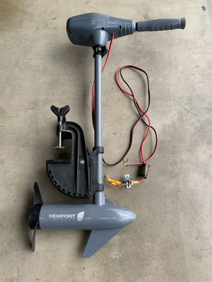 Newport Vessels Kayak Series 36lb Thrust Transom Mounted Saltwater Electric Trolling Motor w/LED Battery Indicator for Sale in Walnut, CA