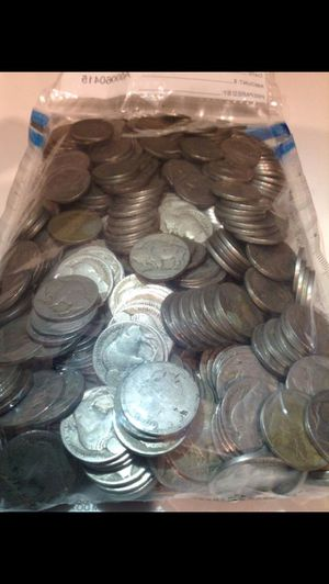 VALUABLE Liberty & Buffalo Nickels— Bank Sealed Deposit Bag— filled with Unsearched 1883-1912 Nickels- 450 Coins Total- ALL Rare Dates & Errors Possi for Sale in Fairfax, VA
