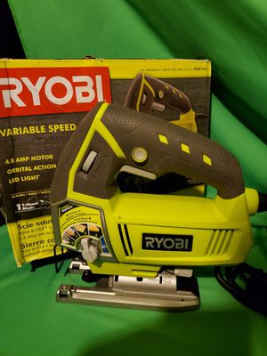 RYOBI VARIABLE SPEED JIGSAW for Sale in Beaumont, CA