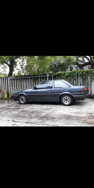 86 toyota Corolla with a rotary for Sale in Fort Lauderdale, FL