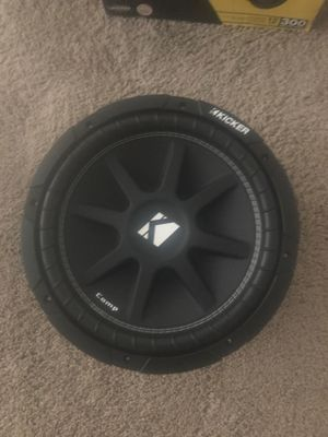 "12"" Comp Kicker Subwoofer for Sale in Frederick, MD"