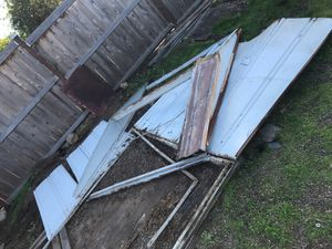 Free metal and metal shelves for Sale in San Marcos, CA