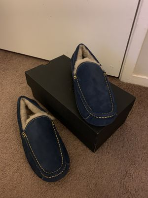 100% Authentic Brand New in Box UGG Ascot Slippers / Color: Navy / Men size 9 for Sale in Walnut Creek, CA