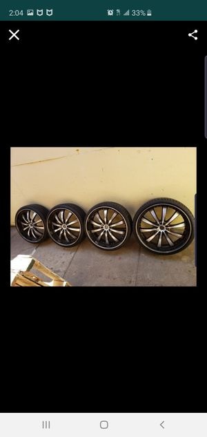 22inch rims for Sale in Long Beach, CA