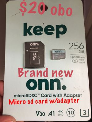Brand new micro as card for Sale in Boring, OR