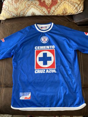 Cruz Azul jersey in good condition size is large for Sale in Perris, CA