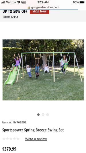 NEW Sportspower Me and my toddler Swing Set for Sale in Dallas, TX