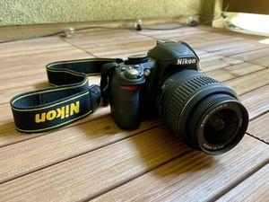 Nikon D3100 DSLR Digital Camera with 18-55mm Lens for Sale in San Jose, CA