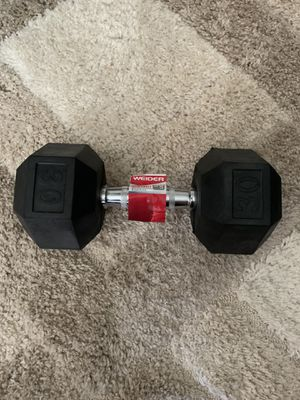 30 lb dumbbell - Single for Sale in Atlanta, GA