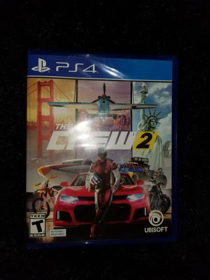 The crew 2 PS4 for Sale in Aurora, CO