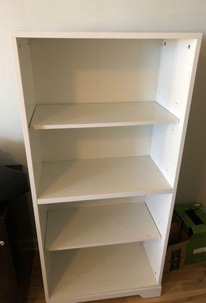 White bookcase for Sale in Chicago, IL