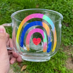 Rainbow Clear Mug for Sale in Santa Ana,  CA