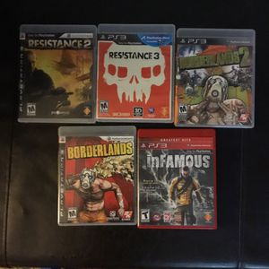 PS3 games for Sale in Lansing, MI