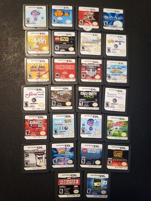 Nintendo DS Games. $5 Each for Sale in Tampa, FL