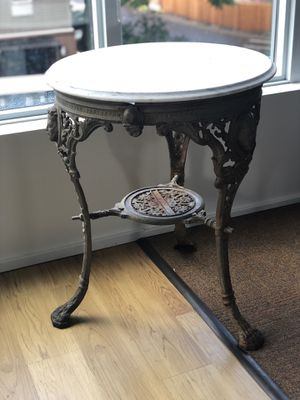 English Pub Table / Garden Table -Turn of the Century for Sale in Portland, OR