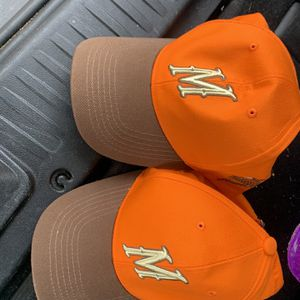 3 Minnesota Wild Game Giveaway Pheasants Forever Orange Hats for Sale in Minneapolis, MN