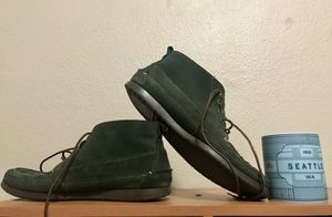 Men's 9.5, Green Suede L.L. Bean Desert Boot for Sale in Gig Harbor, WA