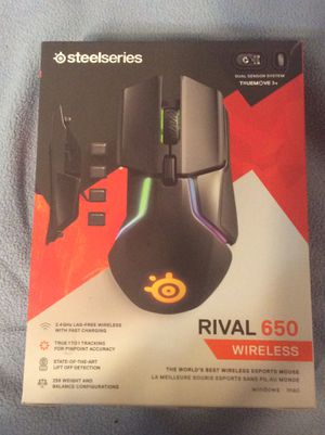 Steelseries Rival 650 Wireless mouse for Sale in Thornton, TX