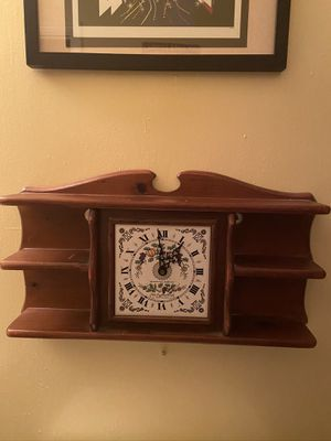 New England Clock Company Wall Clock for Sale in Suffolk, VA