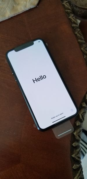 NEW iPhone X NEVER USED for Sale in Port St. Lucie, FL