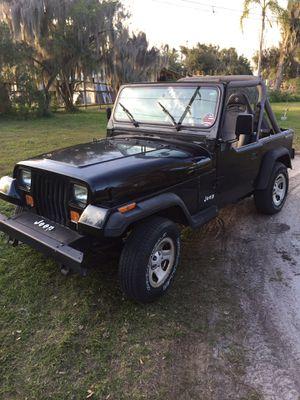 4x4 Jeep Wrangler for Sale in Dover, FL
