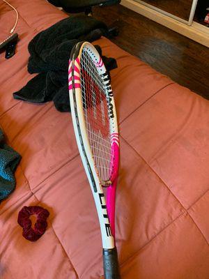 Pink tennis racket for Sale in Ontario, CA