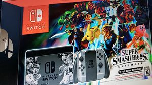 Nintendo Switch Super smash brothers ultimate edition switch bundle for Sale in Evesham Township, NJ