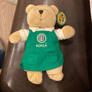 Starbucks Korea Bear-new With Tag for Sale in Redmond, OR