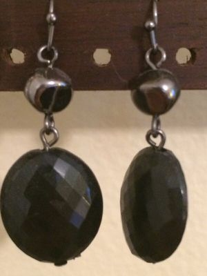 Hanging Black Earrings Free for Sale in Charlotte, NC