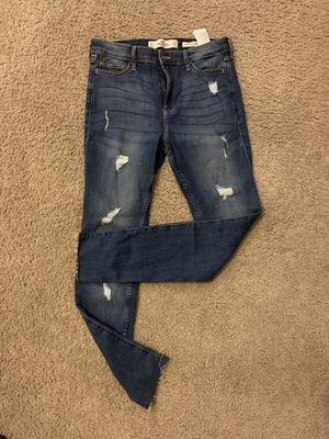 Hollister Size 28 women's high rise super skinny jeans for Sale in San Jose, CA