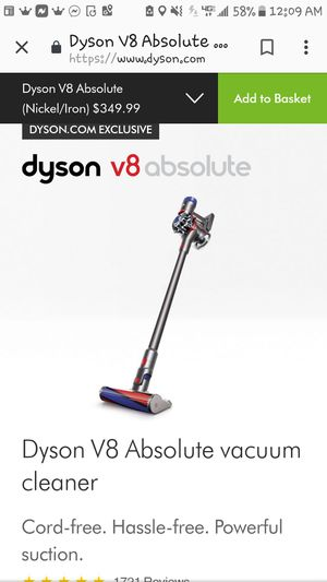 Dyson V-8 Absolute - brand new!! for Sale in Mount Vernon, WA