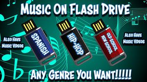 Music Flash Drive/Sd Card for Sale in Dallas, TX