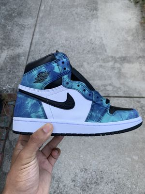 Air Jordan 1 Retro Tie Dye Size 8 W for Sale in Halethorpe, MD