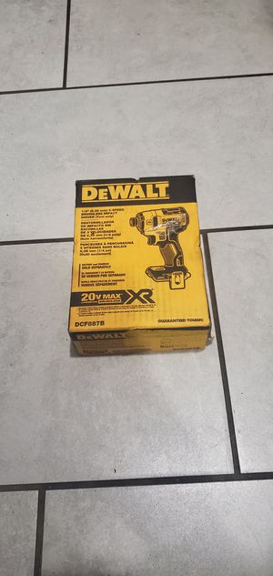 DEWALT 20 VT MAX BRUSHLESS XR IMPACT DRILL 3 SPEEDS NEW NUEVO TOOL ONLY for Sale in Signal Hill, CA