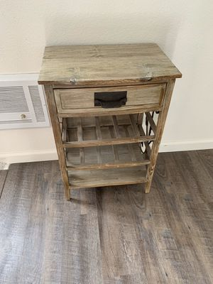 Rustic wood nightstand or end table for Sale in San Diego, CA