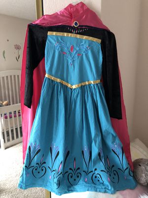 Elsa coronation dress size L for Sale in Los Angeles, CA