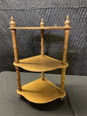 Small Wall Hanging Corner Shelf - Wooden for Sale in Lauderdale Lakes, FL