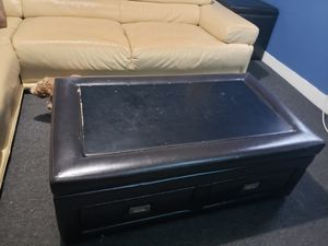 Coffee table and storage end tables for Sale in Waterbury, CT